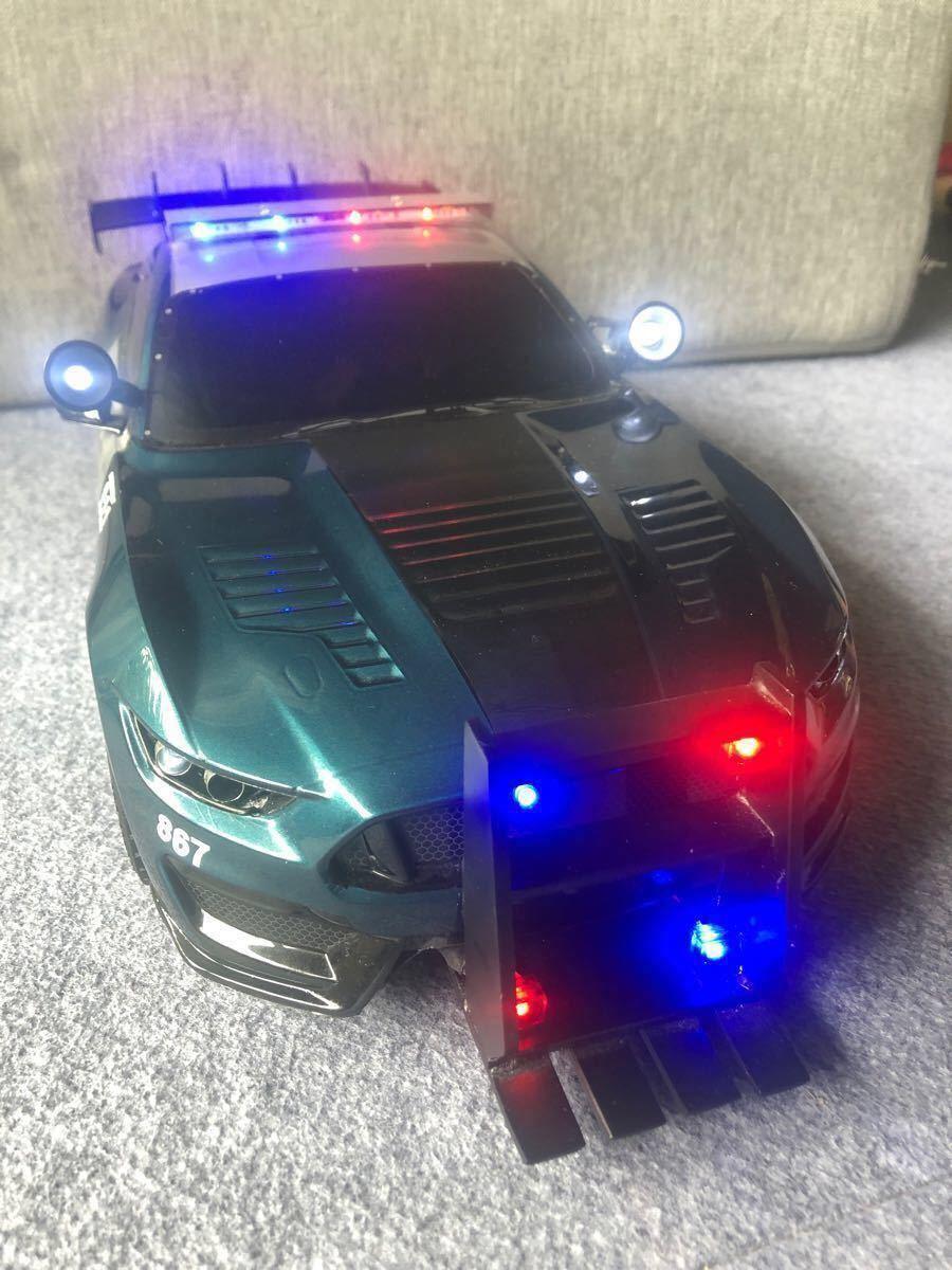 タミヤ TT02D トランスフォーマーバリケード