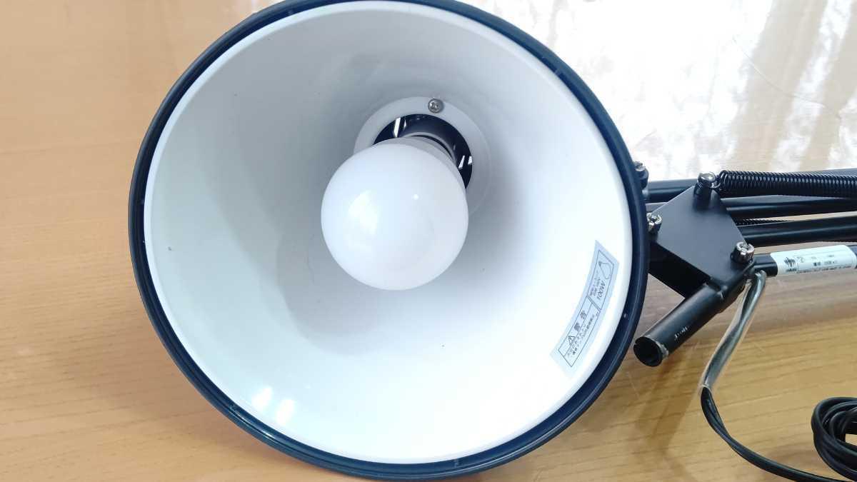 山田照明 yamada Z-Light ゼットライト Z-108 ブラック 黒 デスクスタンドライト ランプ 中古 良品 送料無料 即決_画像7