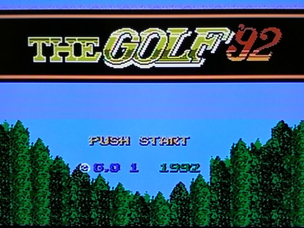 ファミコンソフト 7本セット 動作確認済み FCソフト スペースハンター/THE GOLF'92など FCまとめ