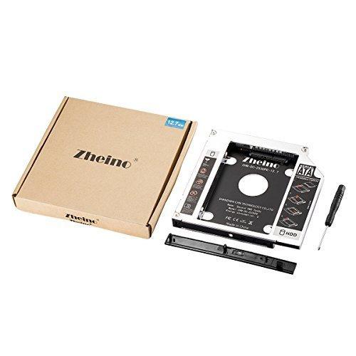 色CHN-DC-2530PE-12.7 Zheino 2nd 12.7mmノートPCドライブマウンタ セカンド 光学ドライブベイ用_画像4