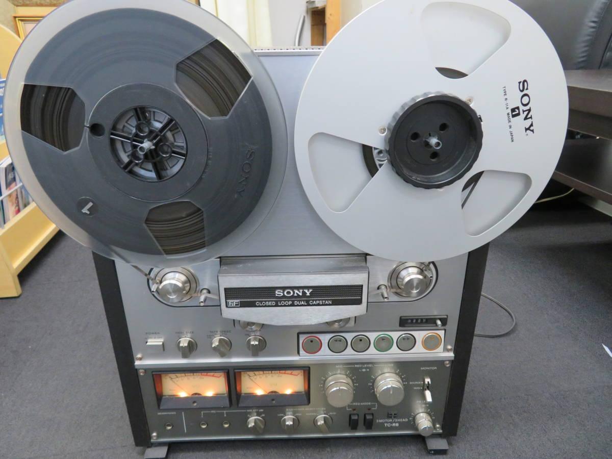 ソニー オープンリールテープレコーダー TC-R6 現状 Sony