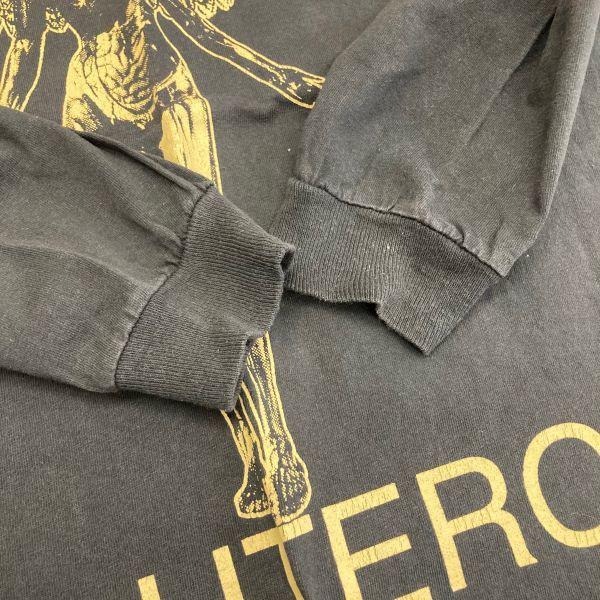Made in USA 90s VTG NIRVANA IN UTERO 長袖 Tシャツ ロンT KURT COBAIN カートコバーン ニルヴァーナ hole sonic youth_画像5