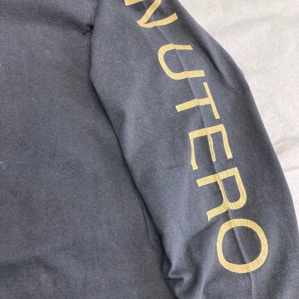Made in USA 90s VTG NIRVANA IN UTERO 長袖 Tシャツ ロンT KURT COBAIN カートコバーン ニルヴァーナ hole sonic youth_画像4