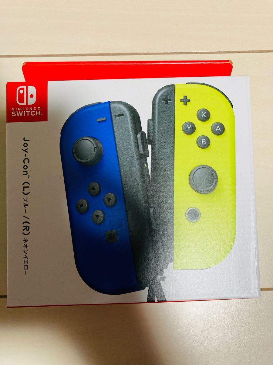 ジョイコン Joy-Con (L) ネオンブルー Nintendo Switch スイッチコントローラー