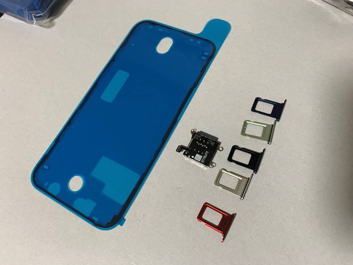 iPhone 12 物理デュアルSIM化用カスタムパーツ 64GB 128GB 256GB Dual sim レッド ブラック ホワイト グリーン ブルー パープル_画像2