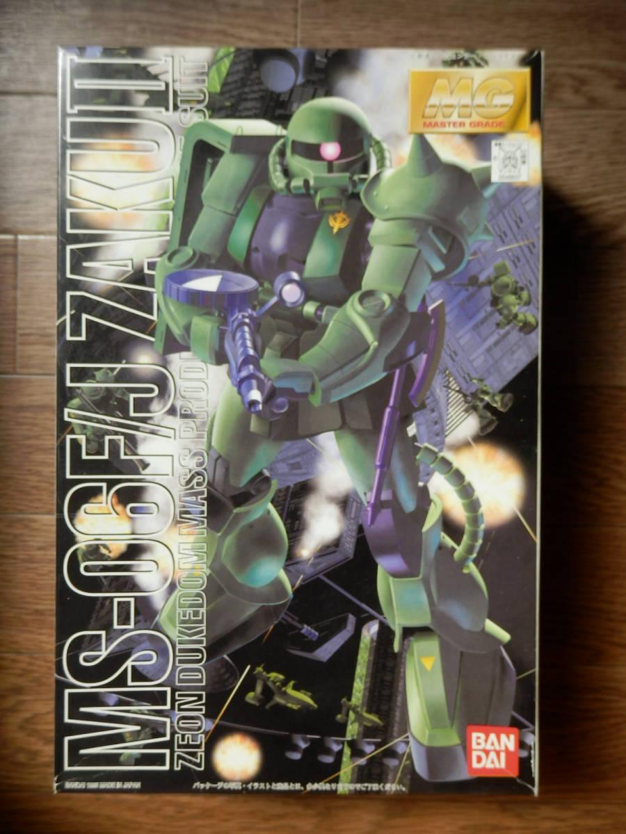 ★1円スタート★BANDAI バンダイ 1/100 MG MS-06F/J ZAKUⅡ ザクⅡ