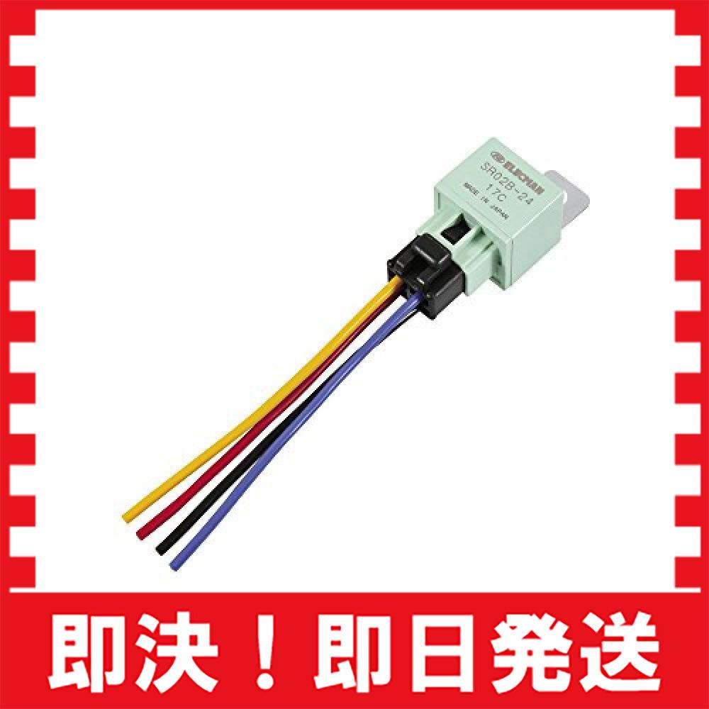 4線(4極)/360W以下/消費電流100mA エーモン リレー 4線(4極) DC24V・360W(15A) 3238_画像3
