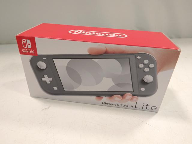 未使用★任天堂/Nintendo Switch Lite ニンテンドースイッチ ライト グレー_画像1