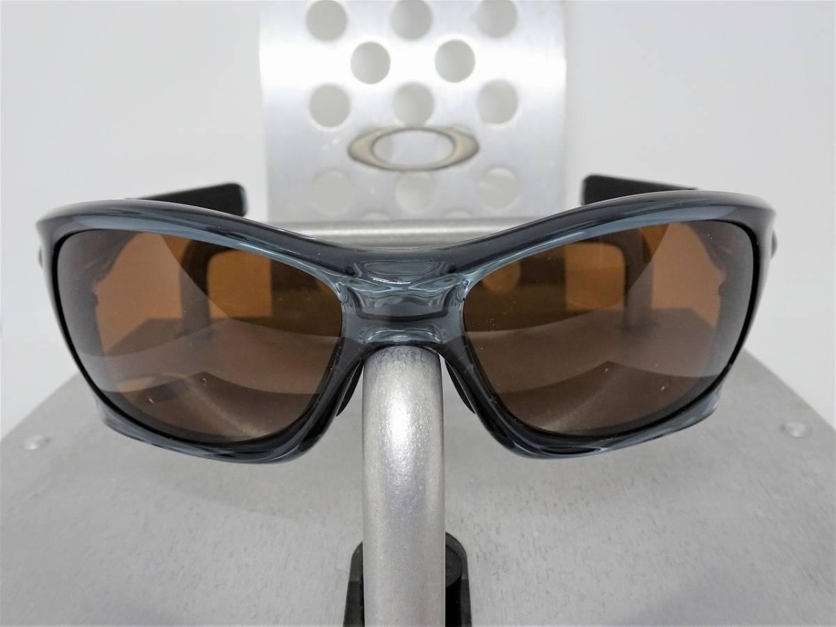 偏光 ピットブル オークリー PIT BULL OAKLEY サングラス アイウェア ゴルフ バイク スノボ ボード ゴーグル blkbrw3_画像2