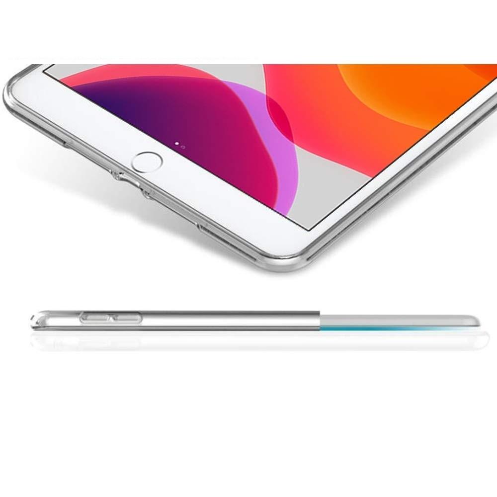 【送料無料】iPad 10.2インチ(第7,8世代) ケース TPU素材 タブレット用 耐衝撃 超薄型 軽量 背面カバー 透明_画像4