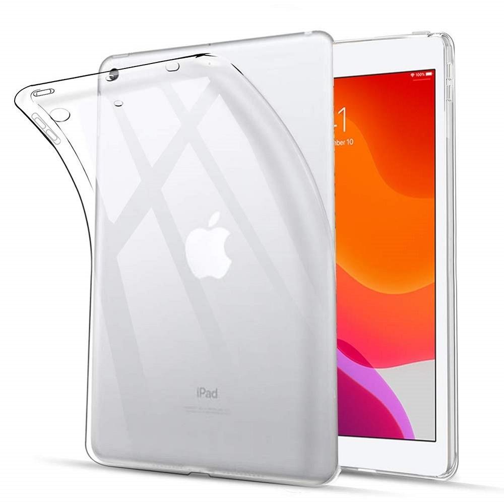 【送料無料】iPad 10.2インチ(第7,8世代) ケース TPU素材 タブレット用 耐衝撃 超薄型 軽量 背面カバー 透明_画像1