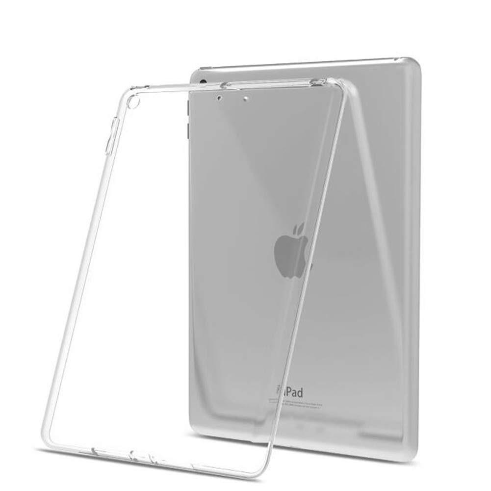 【送料無料】iPad 10.2インチ(第7,8世代) ケース TPU素材 タブレット用 耐衝撃 超薄型 軽量 背面カバー 透明_画像2