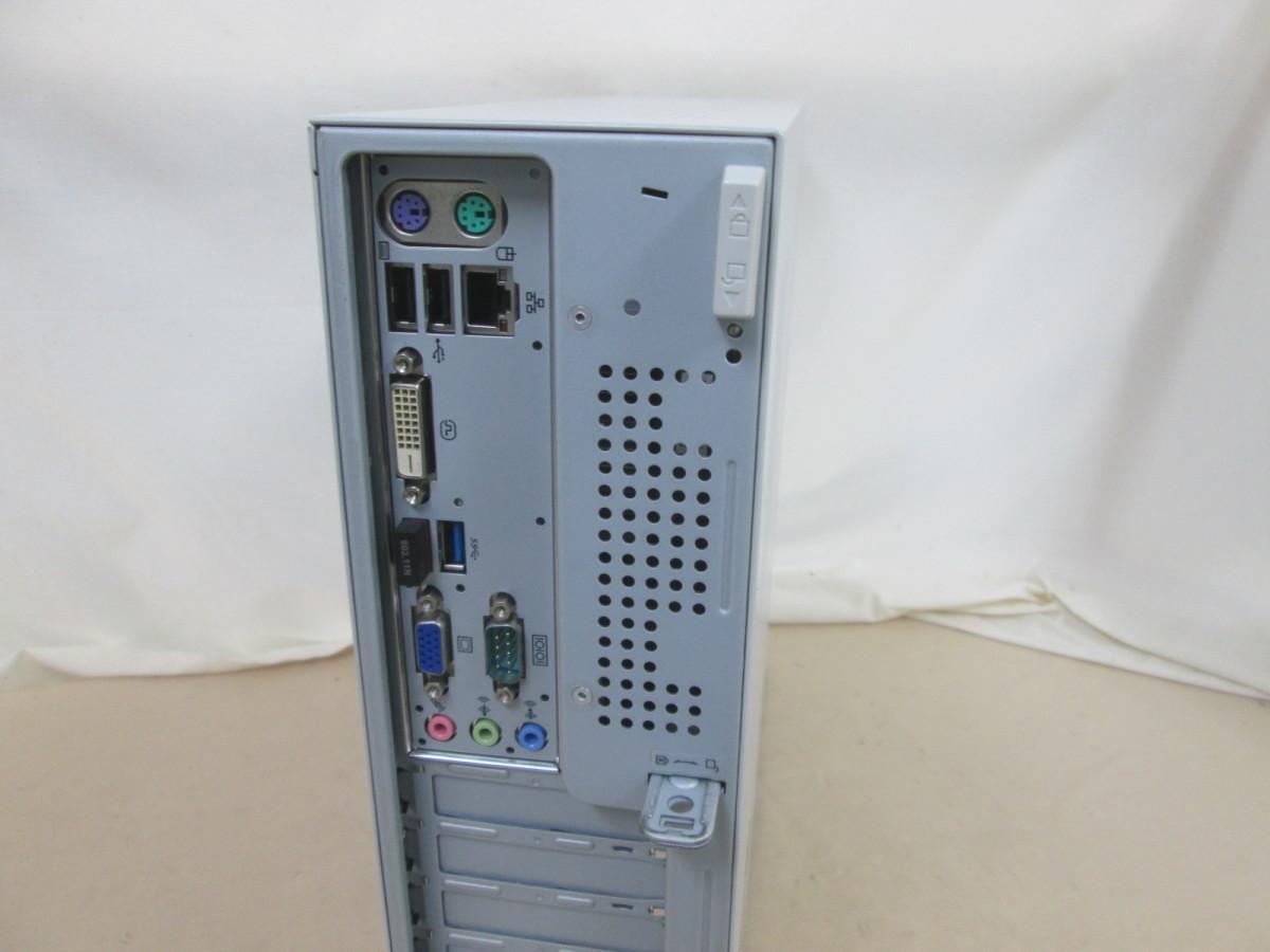 NEC Mate MJ19E/L-G PC-MJ19ELVZ1BSG Celeron G465 1.9GHz 4GB 250GB DVD作成 Win10 64bit Office USB3.0 Wi-Fi [79261]_画像3