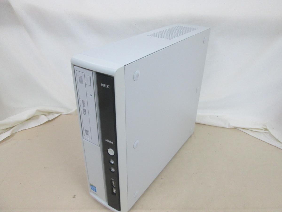 NEC Mate MJ19E/L-G PC-MJ19ELVZ1BSG Celeron G465 1.9GHz 4GB 250GB DVD作成 Win10 64bit Office USB3.0 Wi-Fi [79261]_画像1