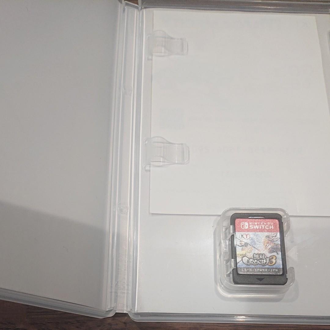 Switch 無双オロチ 3  無双OROCHI 3  ニンテンドースイッチ ソフト