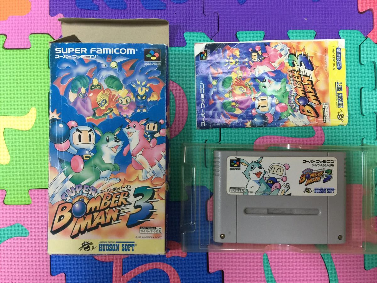 任天堂 スーパーファミコン ソフト4本付き 動作確認済み 完動品