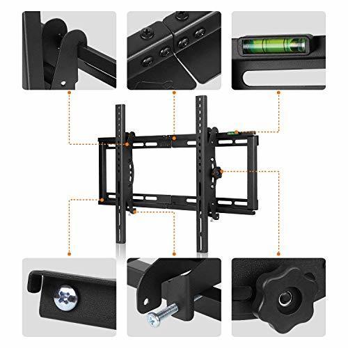 26~75インチ テレビ壁掛け金具 Simbr 26~75インチLCD LED液晶テレビ対応 強度抜群 左右移動式 上下角度調節_画像5