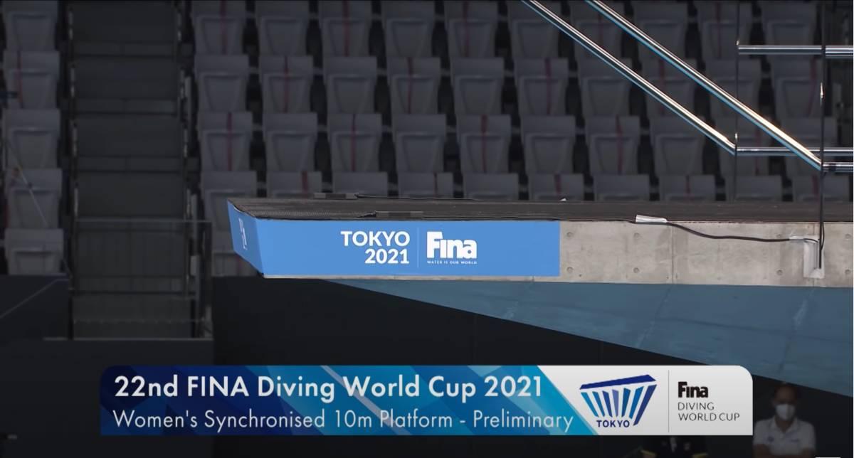 FINA(国際水泳連盟)公式2021水泳競技ワールドカップ東京大会・女子10mシンクロ飛込み公式映像ブルーレイ完全収録(パート1)_画像2
