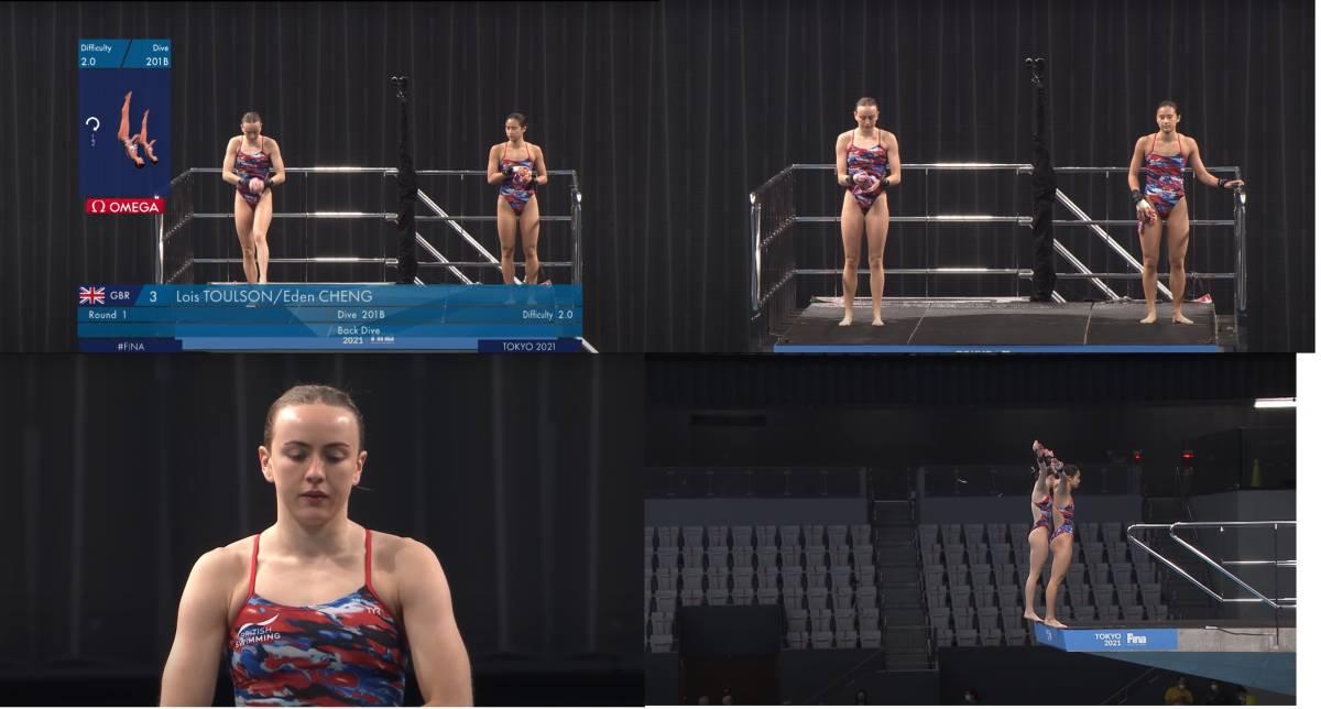 FINA(国際水泳連盟)公式2021水泳競技ワールドカップ東京大会・女子10mシンクロ飛込み公式映像ブルーレイ完全収録(パート1)_画像6