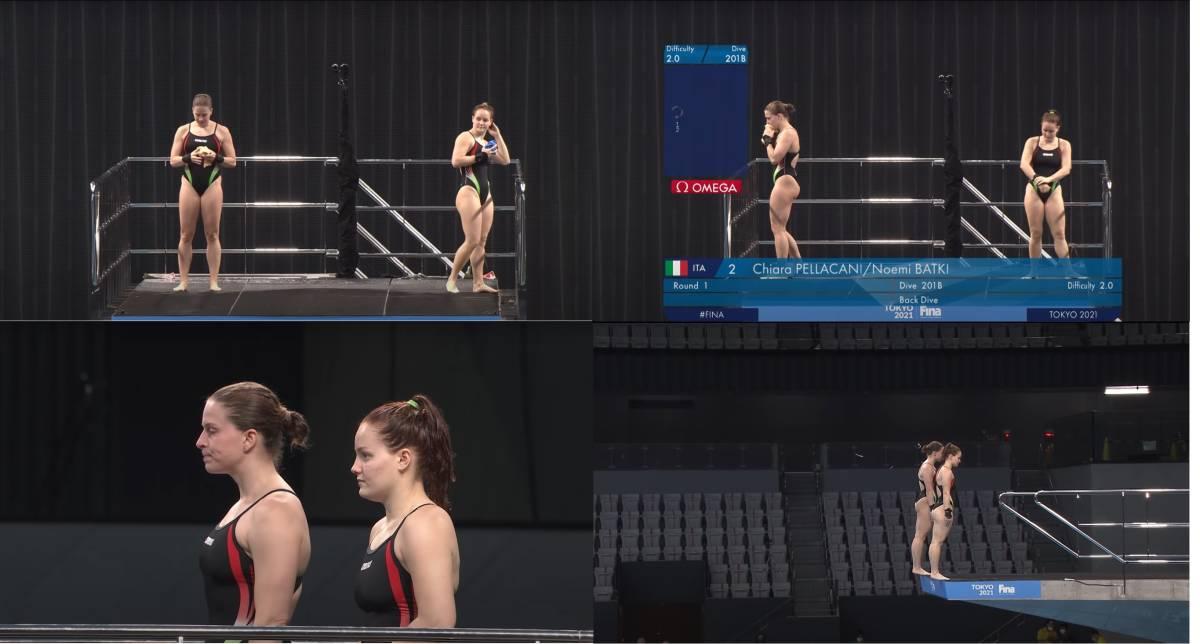 FINA(国際水泳連盟)公式2021水泳競技ワールドカップ東京大会・女子10mシンクロ飛込み公式映像ブルーレイ完全収録(パート1)_画像5
