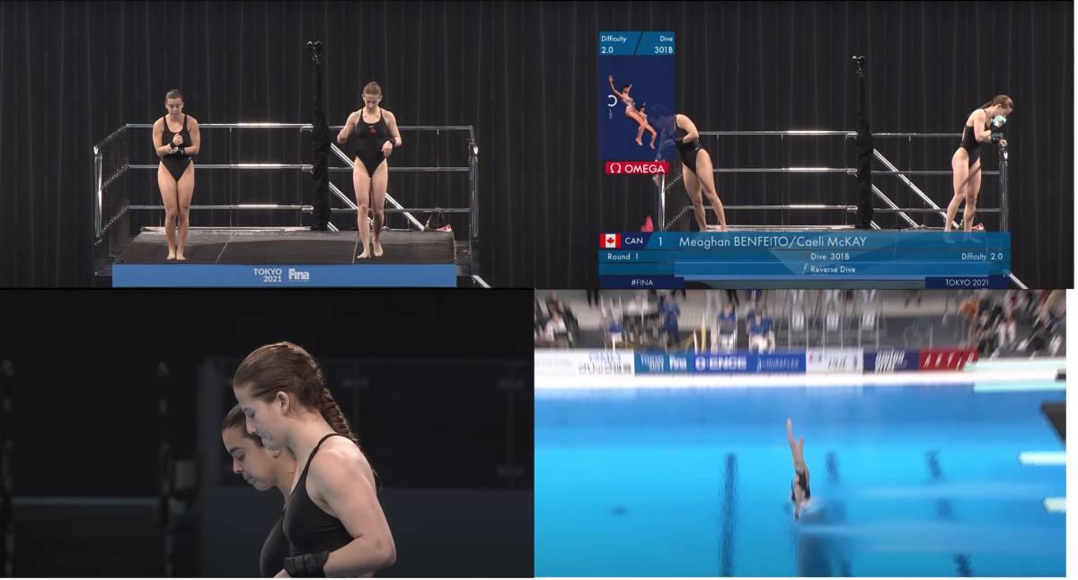 FINA(国際水泳連盟)公式2021水泳競技ワールドカップ東京大会・女子10mシンクロ飛込み公式映像ブルーレイ完全収録(パート1)_画像4