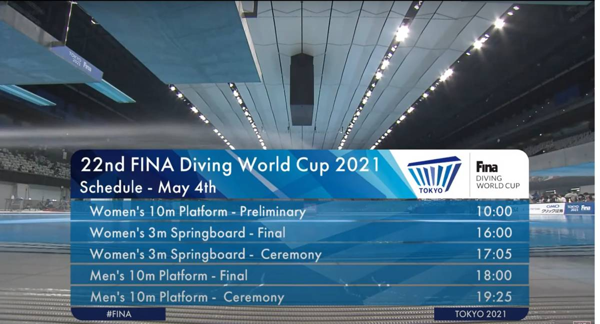 FINA(国際水泳連盟)公式2021水泳競技ワールドカップ東京大会「女子10m予選」公式映像ブルーレイ完全収録!_画像2