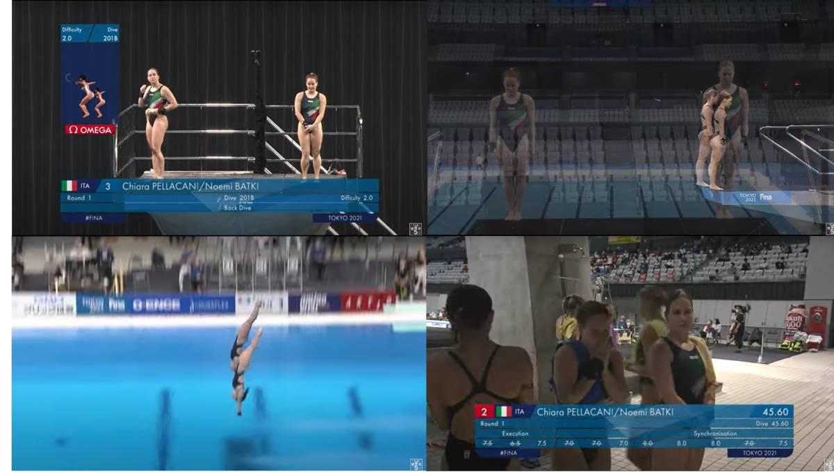 FINA(国際水泳連盟)公式2021年度飛込み競技ワールドカップ・東京大会「女子10mシンクロ決勝」公式映像ブルーレイ完全収録!_画像3