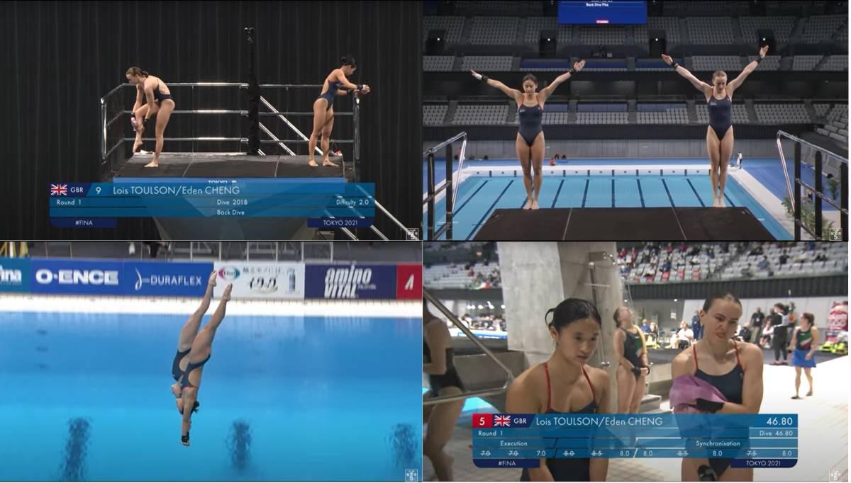 FINA(国際水泳連盟)公式2021年度飛込み競技ワールドカップ・東京大会「女子10mシンクロ決勝」公式映像ブルーレイ完全収録!_画像7