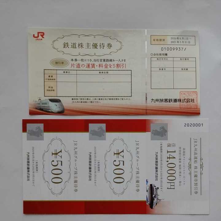 JR九州 九州旅客鉄道 株主優待券 片道運賃5割引券(1枚) 有効期限2021.5.31 未使用_画像1