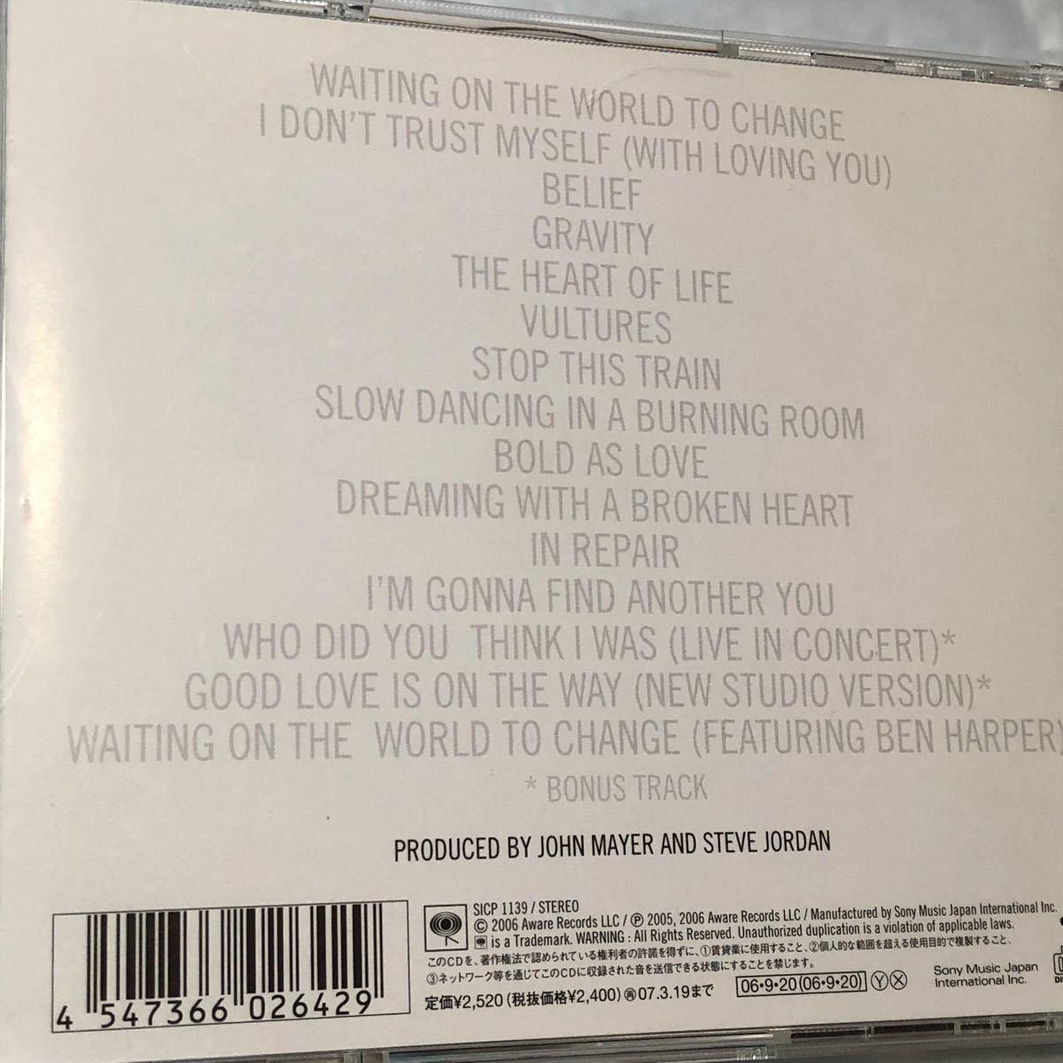ジョン・メイヤー(JOHN MAYER) CD 4枚組