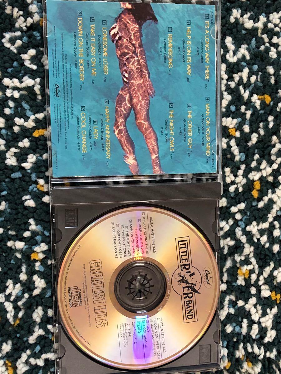 【ベスト盤CD】リトル・リヴァー・バンド/グレイテスト・ヒッツ