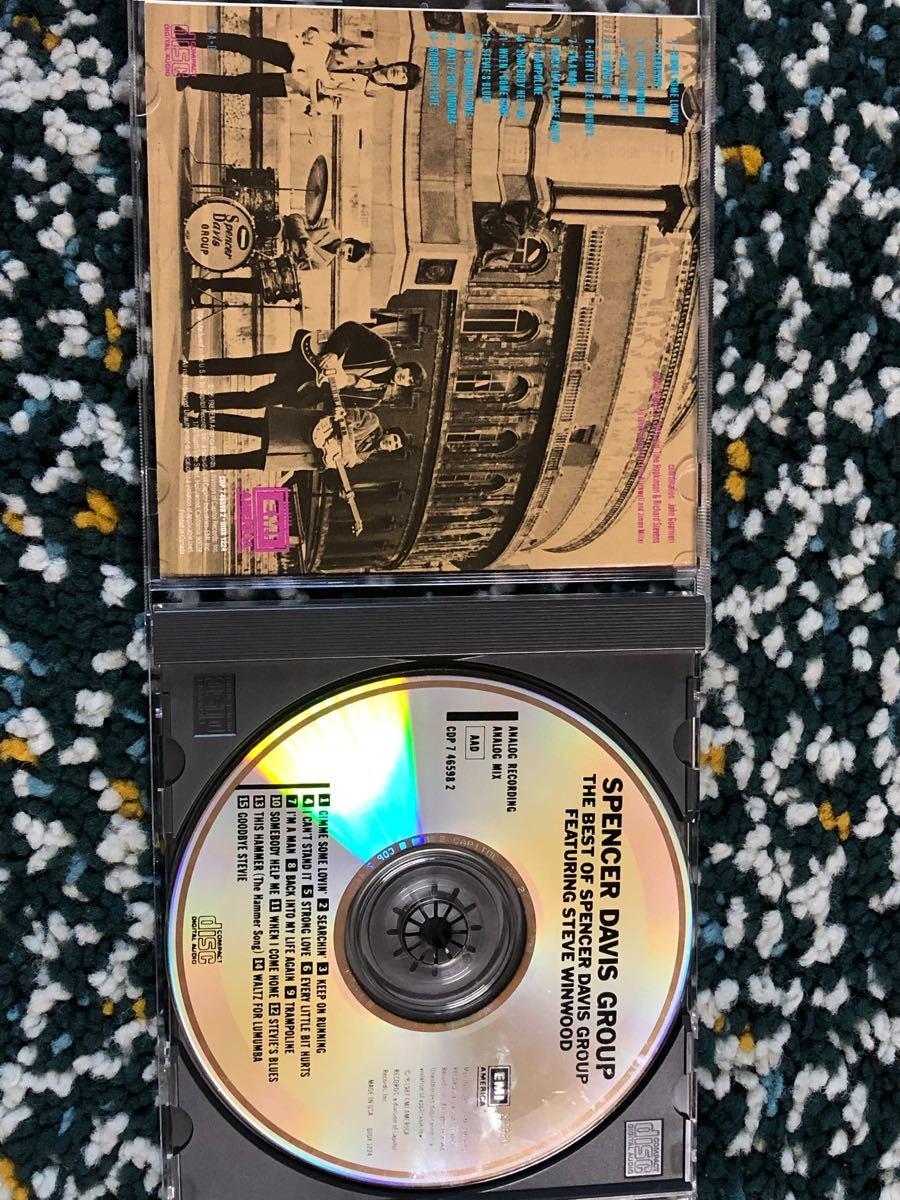 【ベスト盤CD】スペンサー・デイヴィス・グループ/ザ・ベスト・オブ・スペンサー・デイヴィス・グループ