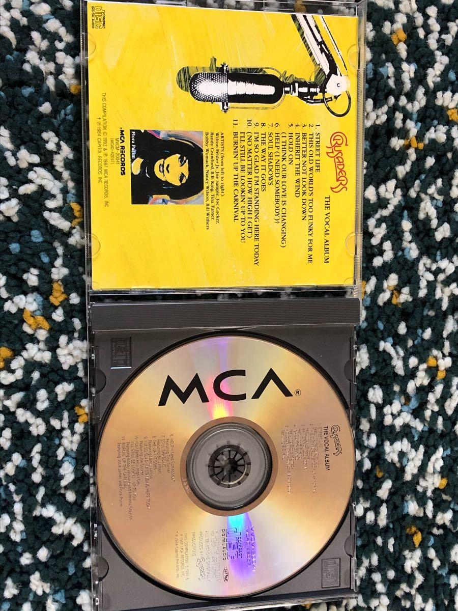 【国内盤ベストCD】ザ・クルセイダーズ ヴォーカル入り曲ベスト盤『ヴォーカル・アルバム』