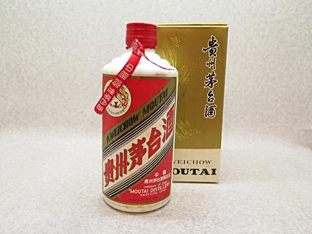 ★☆【中国酒】貴州茅台酒 マオタイ 天女ボトル 1995年 陶器 500ml ot☆★