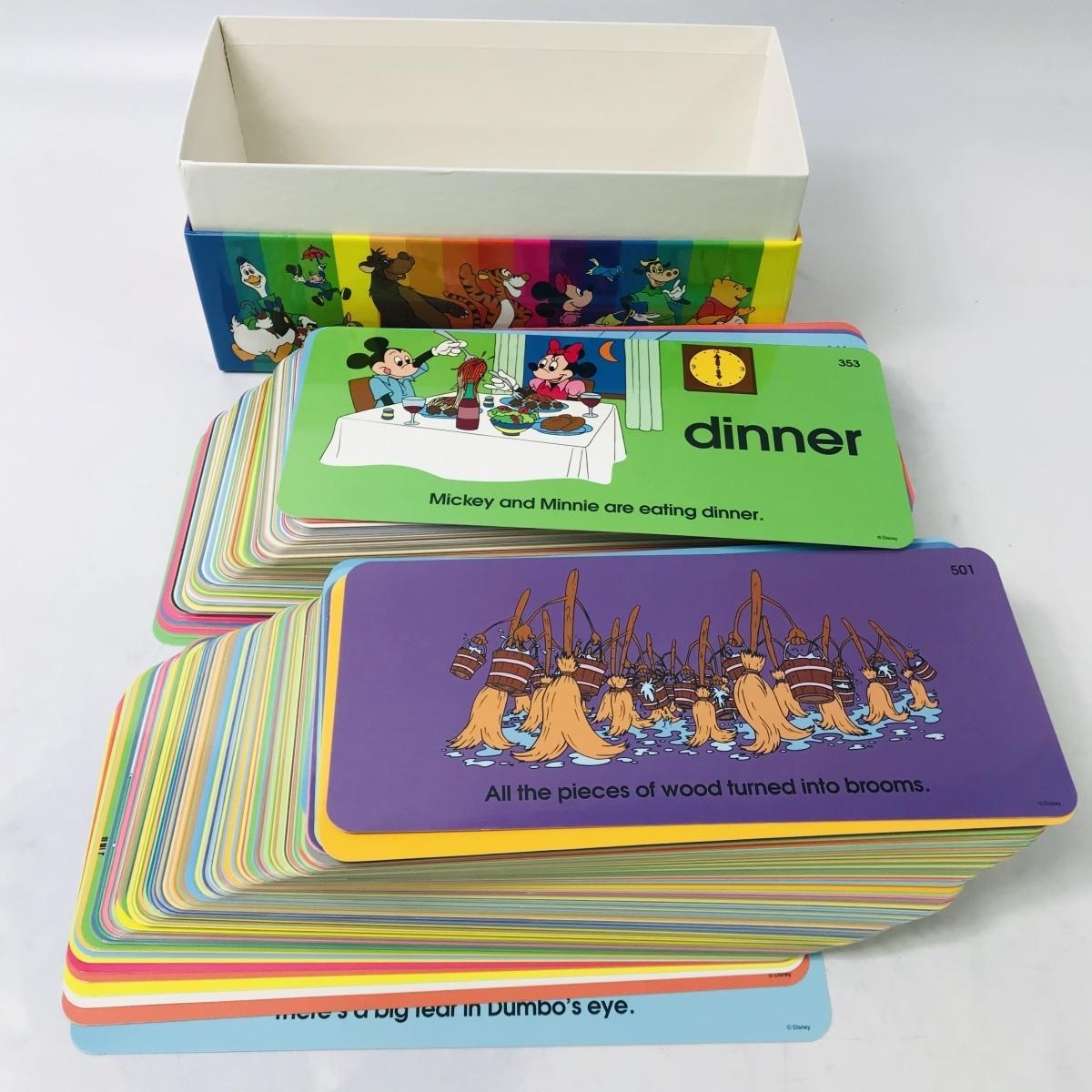 Disney World English DWE ワールド イングリッシュ DVD CD PLAYMATE カード 等 セット_画像10