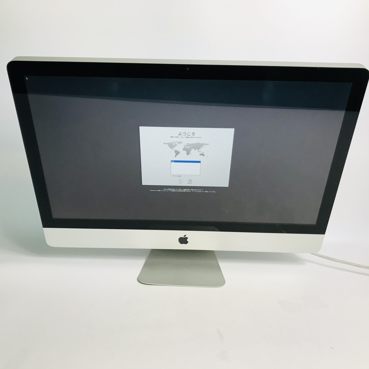 ジャンク iMac 27インチ(Mid 2011) Core i7 3.4GHz/12GB/1TB + SSD 256GB MC814J/A_画像1