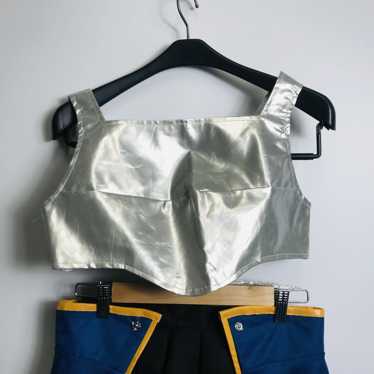 コスプレ衣装 ソードアート・オンライン SAO シリカ風 女性Sサイズ ウィッグ付き_画像3