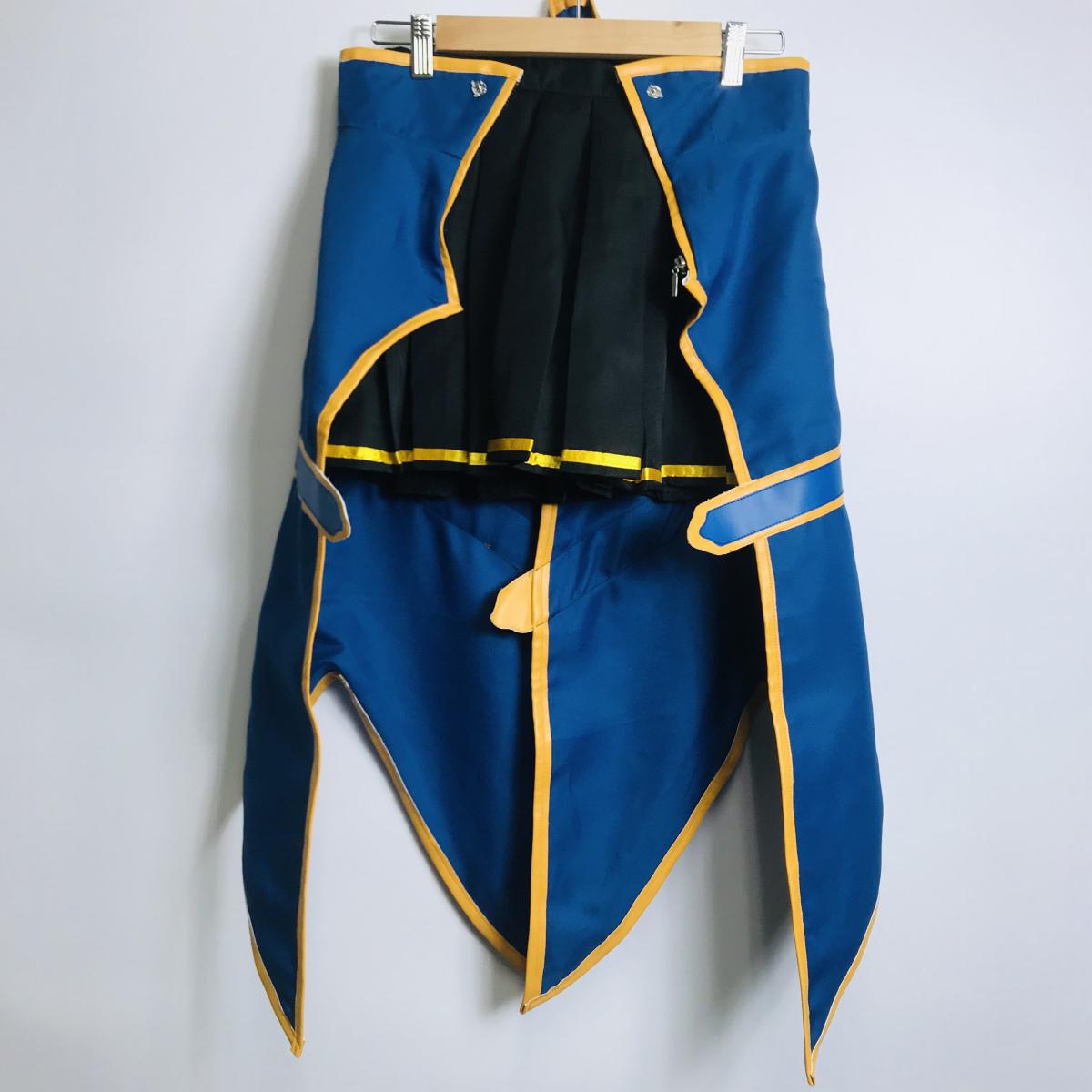 コスプレ衣装 ソードアート・オンライン SAO シリカ風 女性Sサイズ ウィッグ付き_画像4