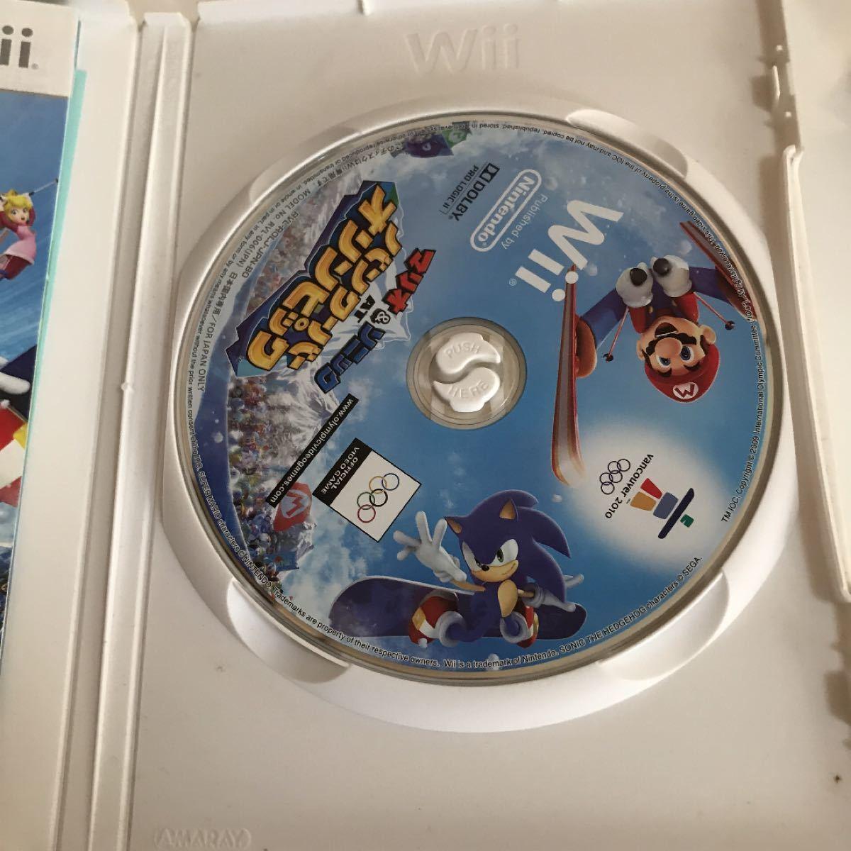 【Wii】 マリオ&ソニック AT バンクーバーオリンピック