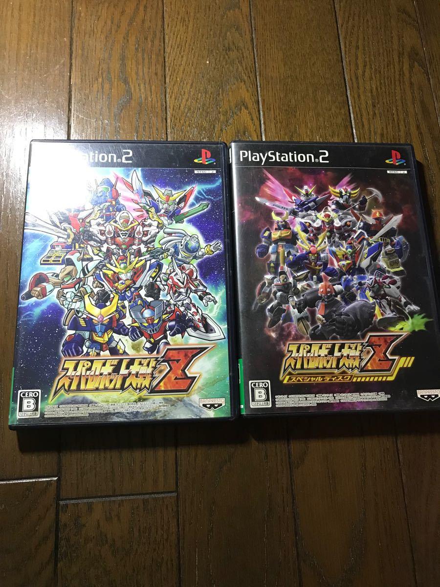PS2 スーパーロボット大戦Z&スーパーロボット大戦Zスペシャルディスクセット