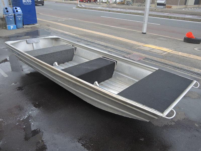 「G081NM Stessl スティール アルミボート 2人用 全長350cm 引き取り大歓迎」の画像1