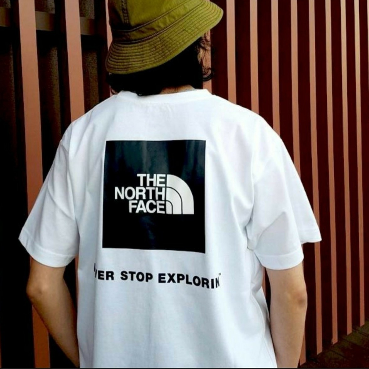THE NORTH FACE  2021春夏 THE ノースフェイス  ショートスリーブ バックスクエアーロゴTNT32144