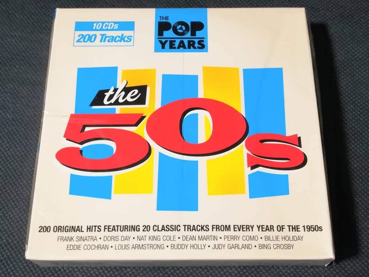 ●THE POP YEARS the 50s ¶Frank Sinatra,Doris Day,Nat King Cole,Billie Holiday