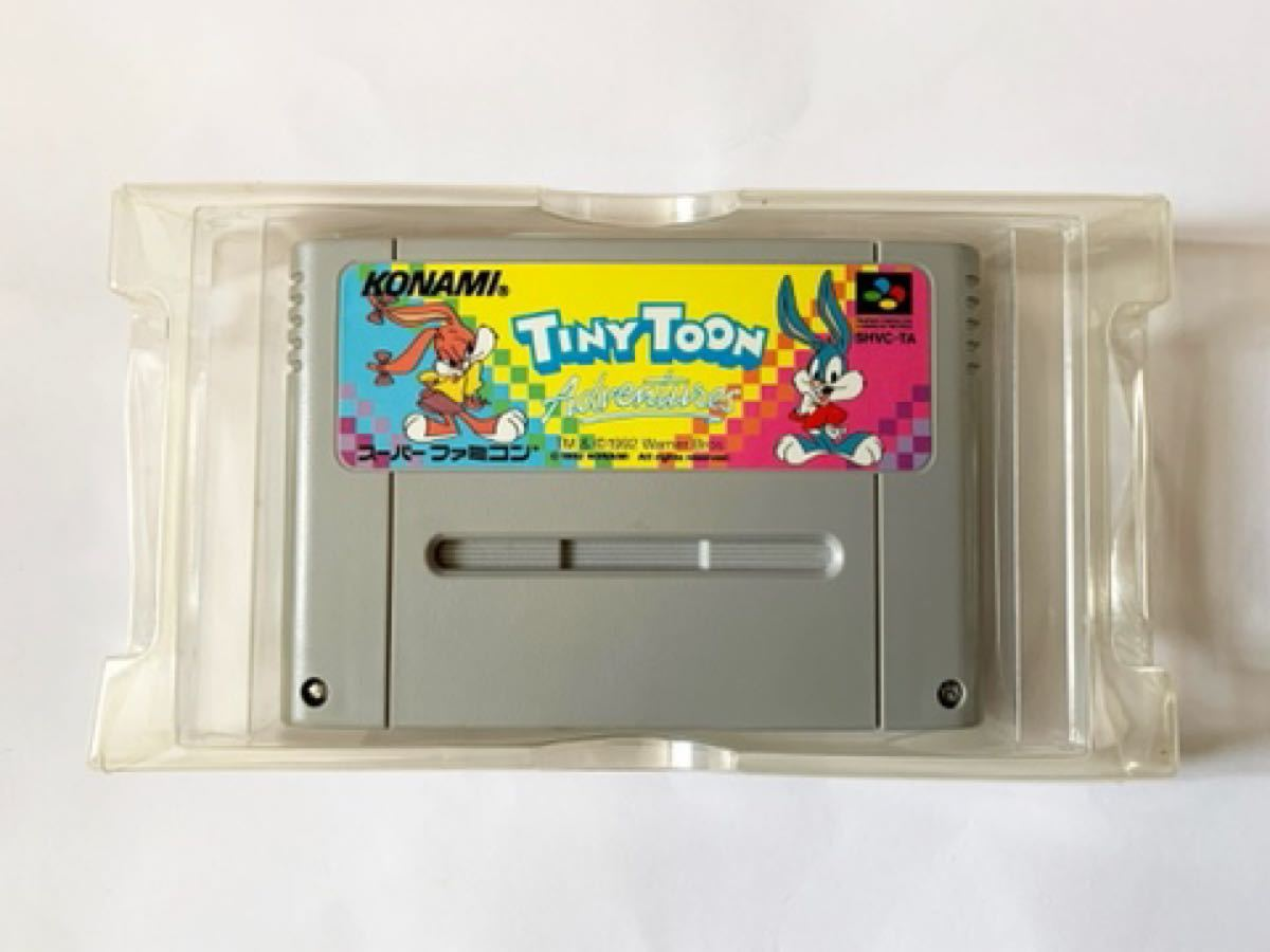 SFC タイニートゥーン アドベンチャーズ 箱説 TINYTOON Adventures スーファミ スーパーファミコン