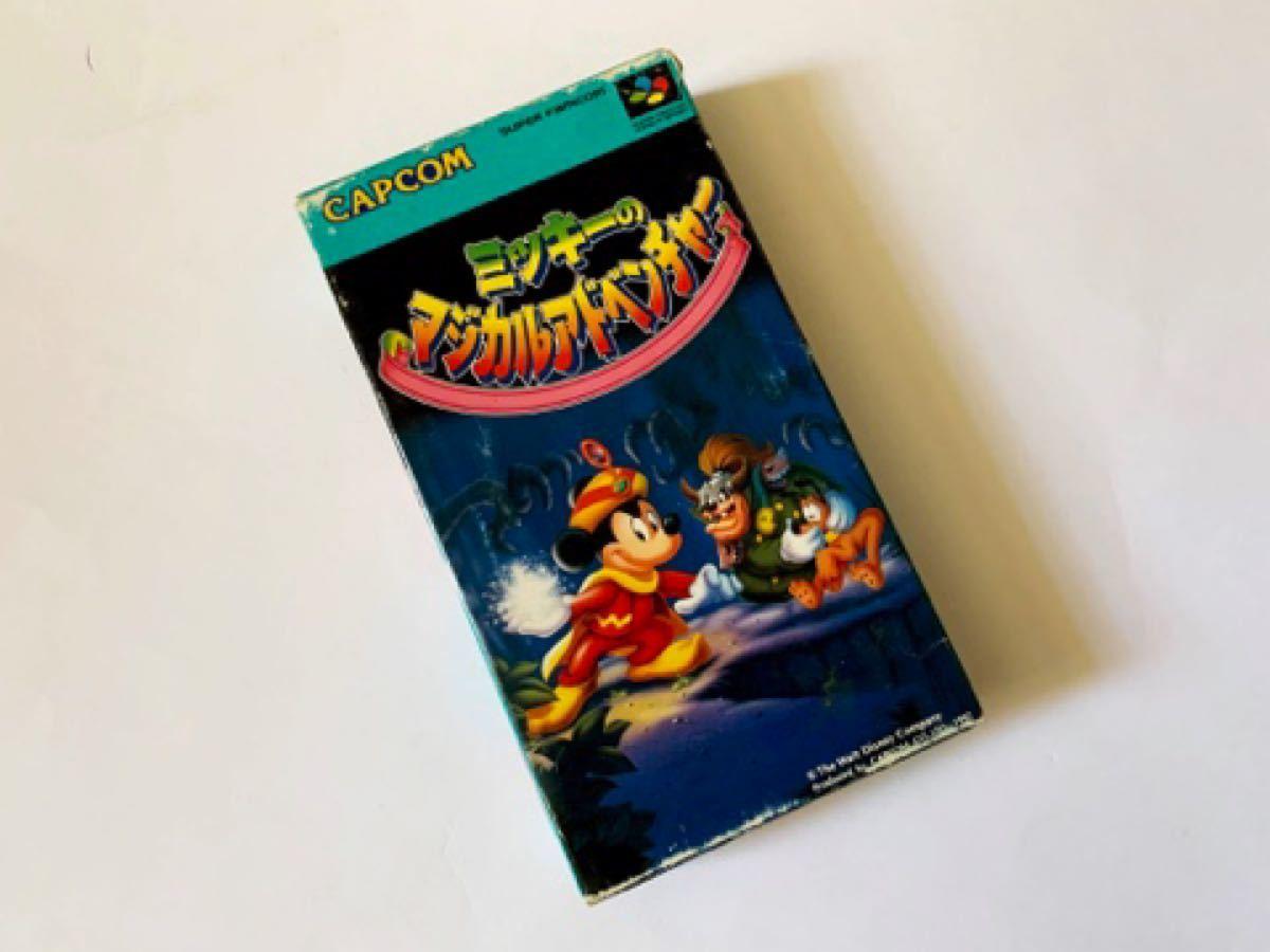 SFC ミッキーのマジカルアドベンチャー 箱説つき スーパーファミコン スーファミ Super Famicom Mickey