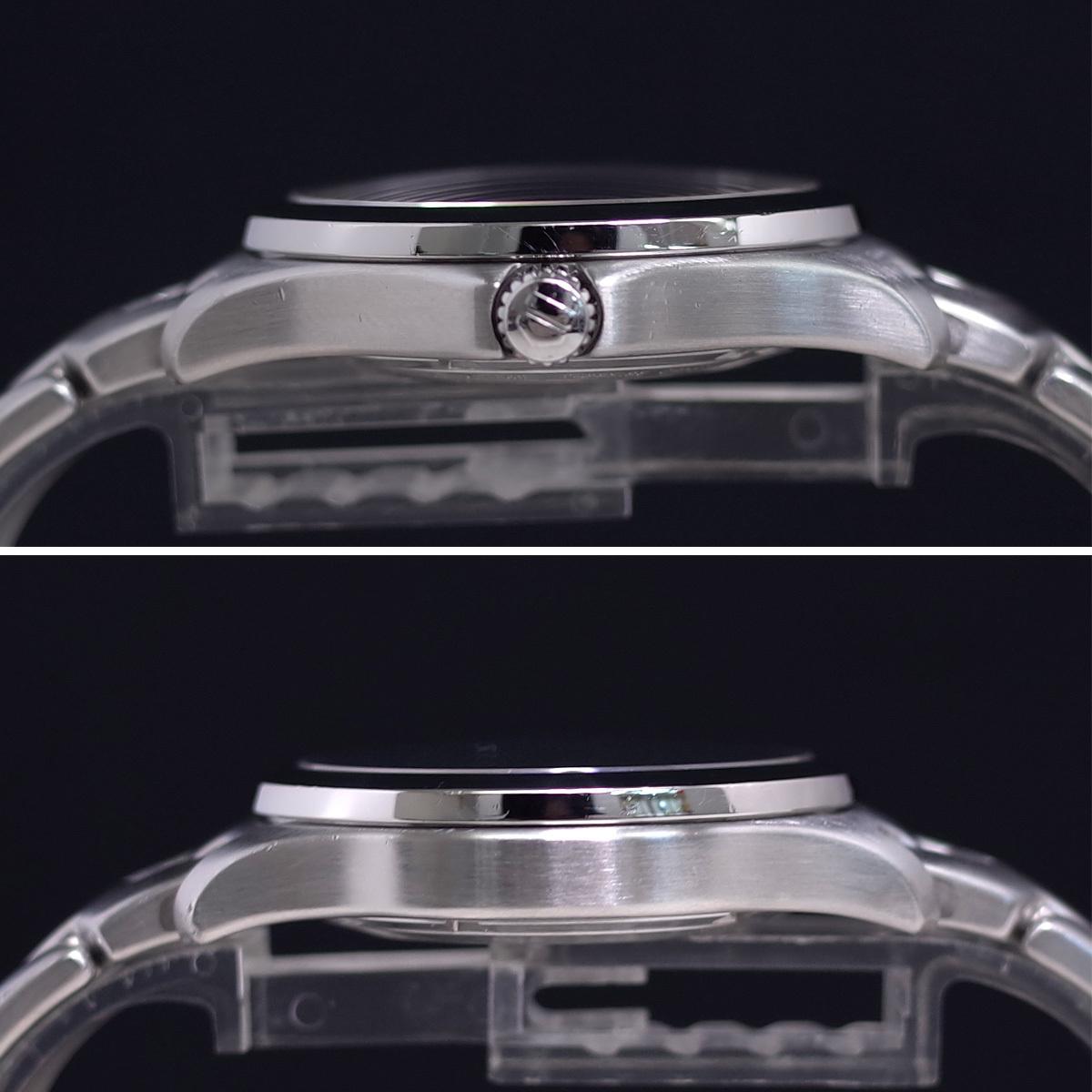 1年保証♪タグホイヤー【リンク】キャリバー6 WJF211A 自動巻 黒文字盤 ブラック ブレスレット 箱 メンズ 腕時計 TAG HEUER_画像7