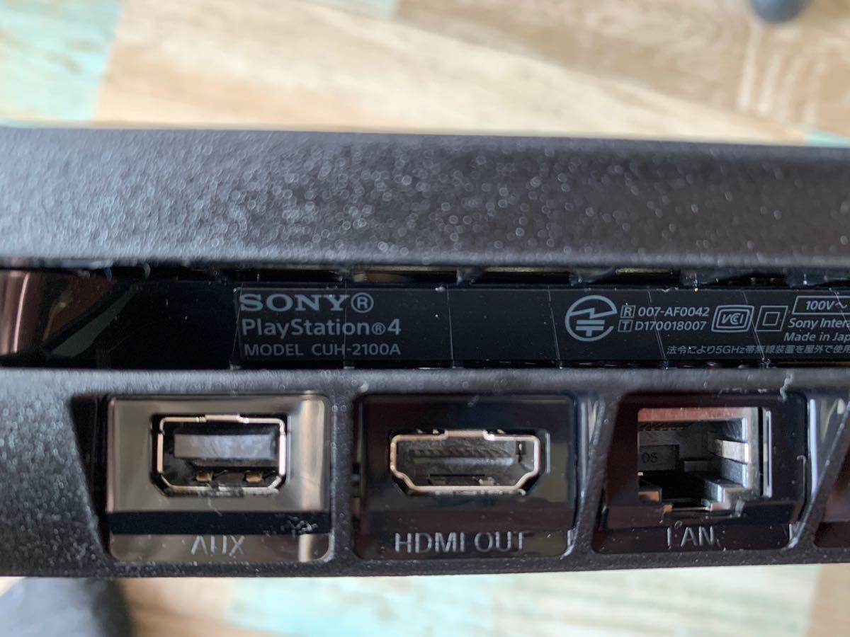 PS4本体 PlayStation4 CUH-2100AB01 プレステ4 PS4