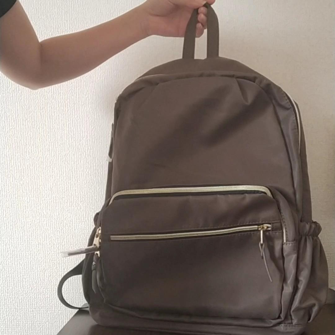 ナイロン リュック 軽量リュック 大容量 撥水加工通学出勤 マザーズバッグ