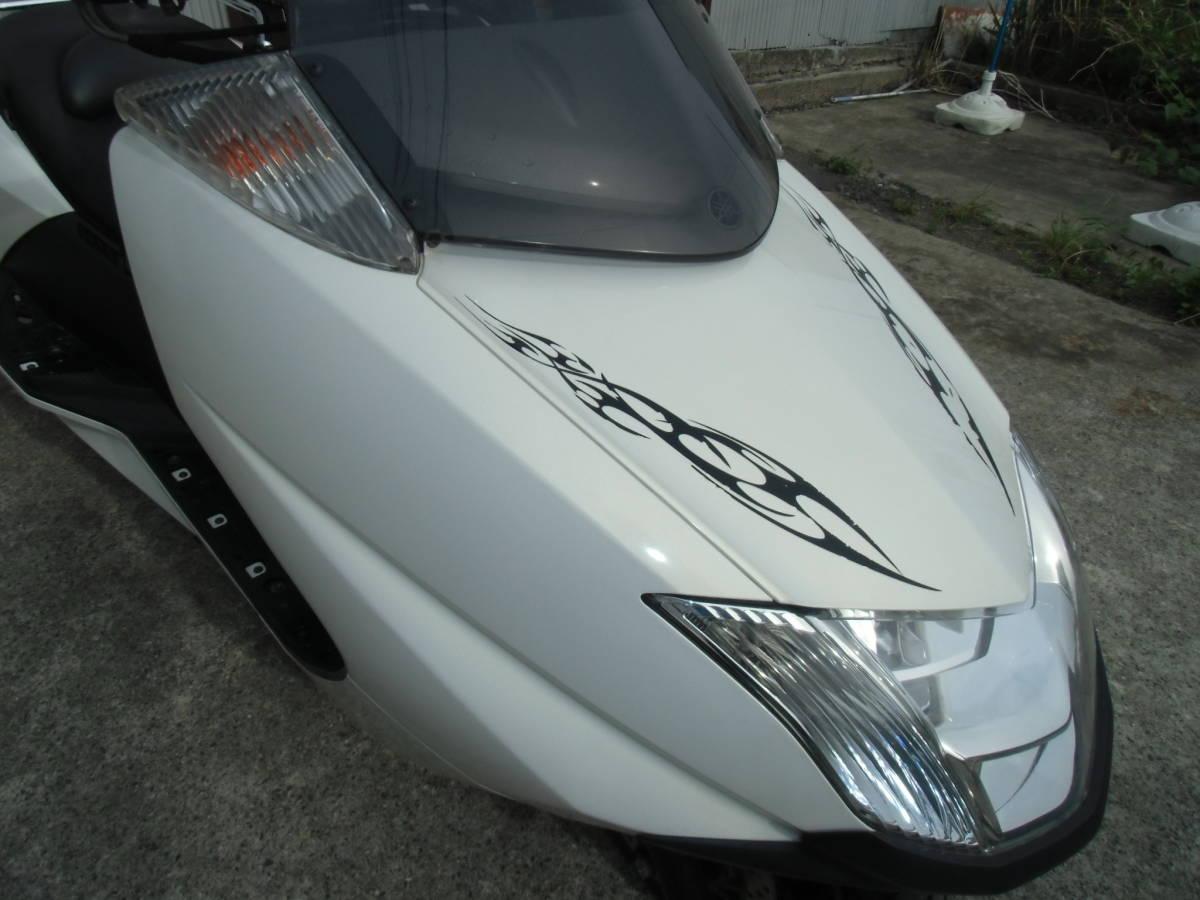 マグザム(Maxam)(SG17J)② FI車で扱いやすい! メーター距離のわりには好調! 福島発!_画像7