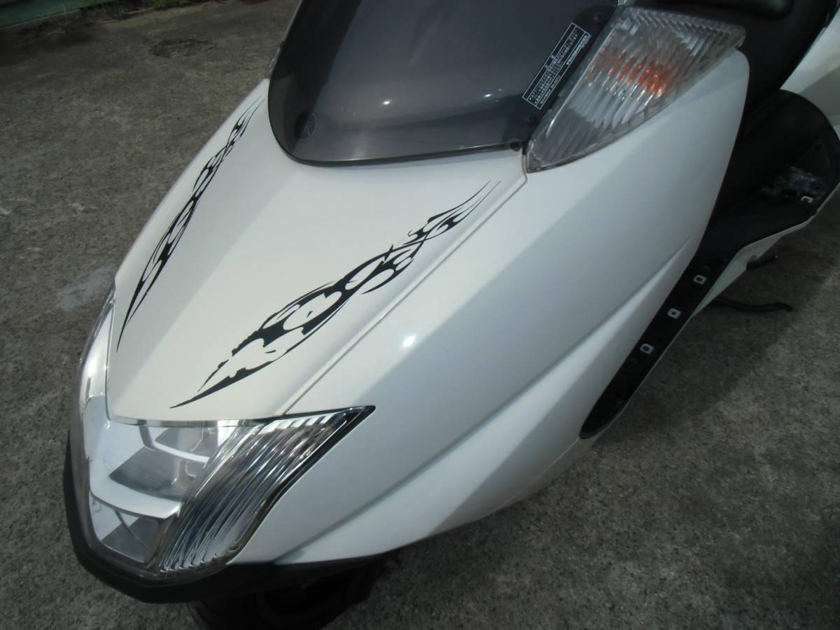 マグザム(Maxam)(SG17J)② FI車で扱いやすい! メーター距離のわりには好調! 福島発!_画像8